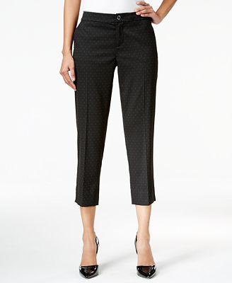 Tommy Hilfiger Cropped Tapered Pants, Only at Macy's