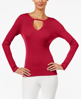 Image of INC International Concepts Keyhole Sweater, Only at Macy's
