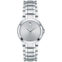 Movado Swiss Collection Stainless Steel Bracelet 28mm Women's Watch