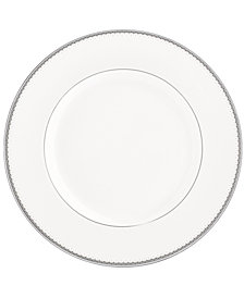 Monique Lhuillier Waterford Dinnerware, Dentelle Dinner Plate 10.5""
