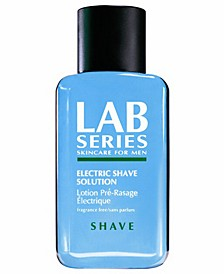 Shave Collection Electric Shave Solution, 3.4 oz.