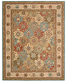 "Nourison Area Rug, Created for Macy's, Persian Legacy PL01 Multi 3' 6"" x 5' 6"""