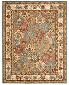 "Nourison Area Rug, Created for Macy's, Persian Legacy PL01 Multi 7' 6"" x 9' 6"""