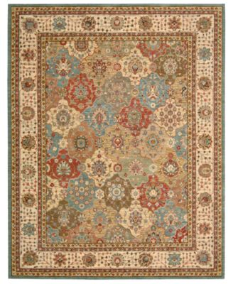 Nourison Area Rug, Created For Macyu0027s, Persian Legacy PL01 Multi 2u0027 6