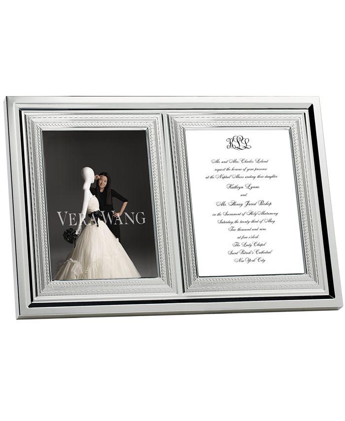 "Vera Wang Wedgwood - ""With Love"" Invitation Frame"