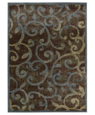 "CLOSEOUT! Area Rug, Expressions XP02 Multi 9' 6"" x 13' 6"""
