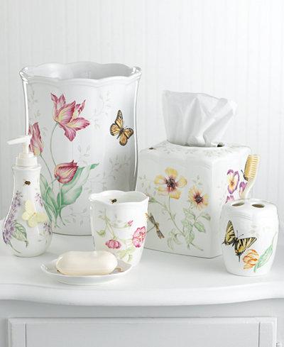 Lenox Quot Butterfly Meadow Quot Bath Accessories Bathroom