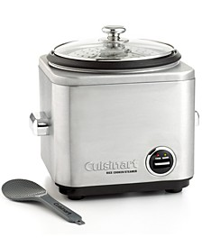 CRC-800 Rice Cooker, 8-Cup Stainless Steel