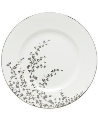 Gardner Street Platinum Dinner Plate