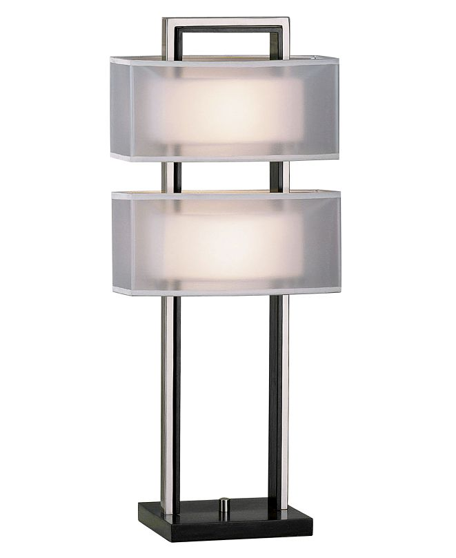 Nova Lighting Amarillo Silver Table Lamp