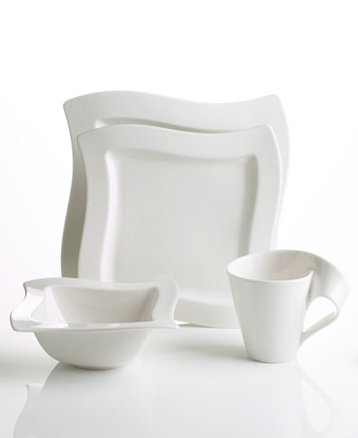 Villeroy boch dinnerware new wave 4 piece place setting for Villeroy boch wave