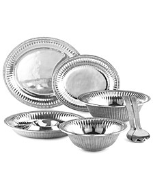 Flutes and Pearls Serveware Collection
