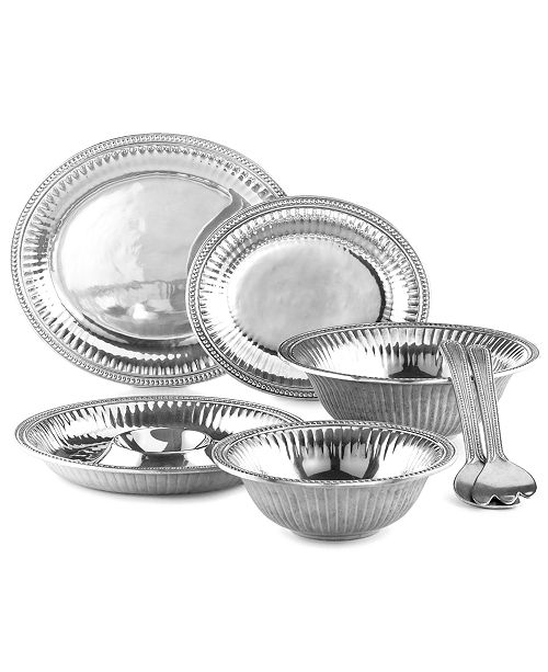 Wilton Armetale Flutes and Pearls Serveware Collection