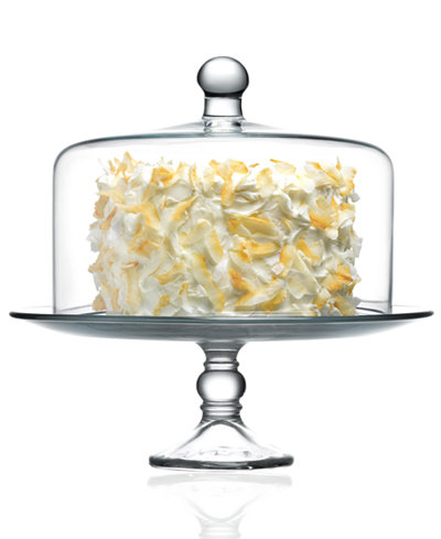 The Cellar Serveware Cake Stand With Dome Serveware