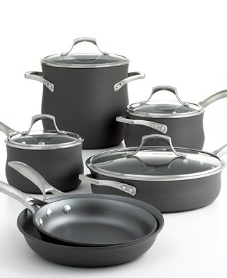 CLOSEOUT! Calphalon Unison Nonstick 10 Piece Cookware Set