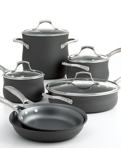 Calphalon CLOSEOUT! Unison Nonstick 10 Piece Cookware Set