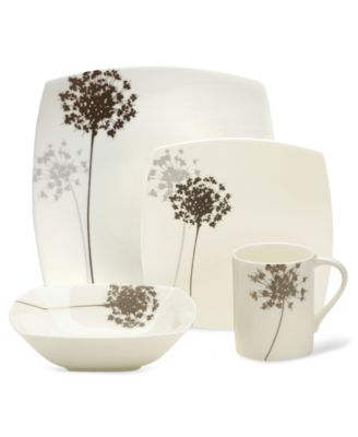 Floral Silhouette Covered Sugar Bowl, 12.2 oz.