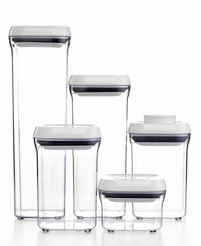 OXO 5-Piece Pop Container Set