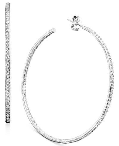 Danori Earrings, Inside Out Hoop