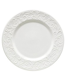 Dinnerware, Opal Innocence Carved Dinner Plate