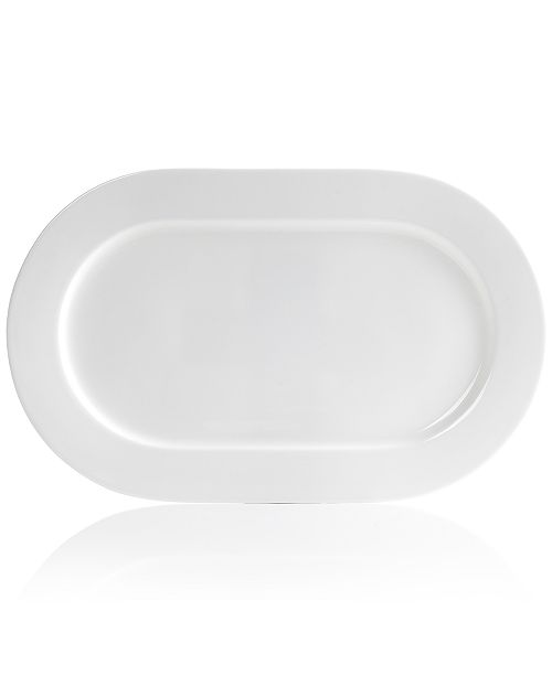 "Hotel Collection Serveware, 18"" Bone China Oval Platter"