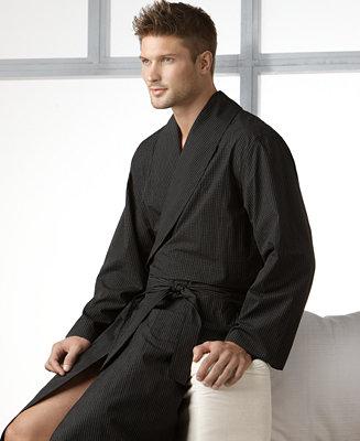 Polo Ralph Lauren Men S Sleepwear Soho Modern Plaid Robe
