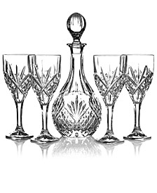 Stemware, Dublin Wine 5 Piece Set Wine Set
