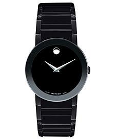 Movado Men's Swiss Black PVD Bracelet Watch 38mm 0606307