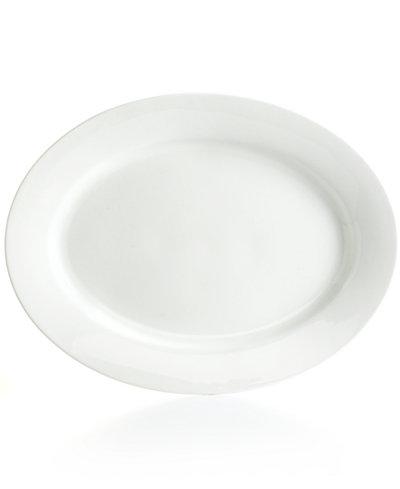 Martha Stewart Collection Whiteware Oval Platter