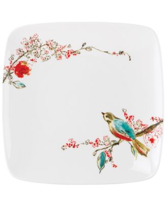 Simply Fine Dinnerware, Chirp Square Salad Plate