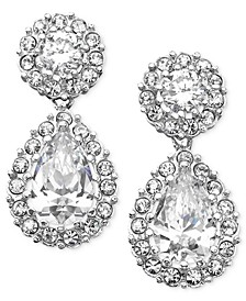 Cubic Zirconia Pear Drop Earrings, Created for Macy's