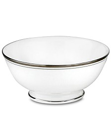 kate spade new york Library Lane Platinum Fruit Bowl
