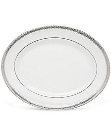 Lenox Lace Couture Medium Oval Platter