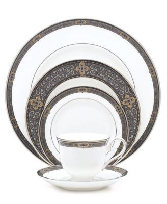 Vintage Jewel 5-Piece Place Setting  sc 1 st  Macyu0027s & Lenox Vintage Jewel Collection - Fine China - Macyu0027s