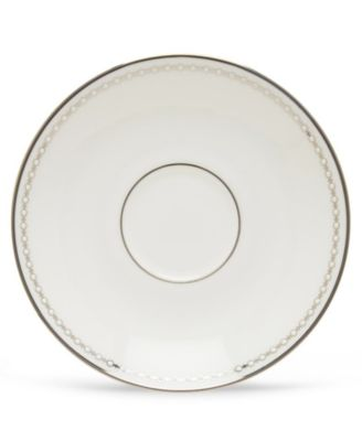 Pearl Platinum Tea Saucer