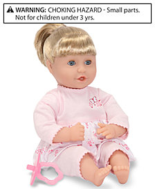 "Melissa and Doug Baby Doll, 12"" Natalie Doll"