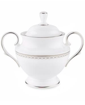 Lenox Pearl Platinum Sugar Bowl