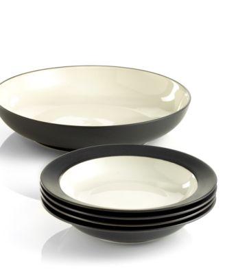 noritake dinnerware colorwave 5 piece pasta set - Noritake Colorwave