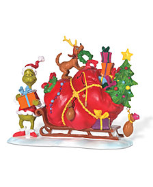Department 56 Grinch Village Heart Grew Three Sizes That Day Collectible Figurine