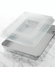 "Commercial 13"" x 18"" Covered Baking Pan"