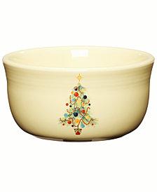 Fiesta Christmas Tree 24 oz. Gusto Bowl