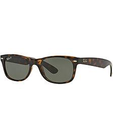 Ray-Ban Polarized New Wayfarer Sunglasses, RB2132 52