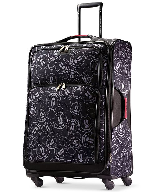 "American Tourister Mickey Mouse Multi-Face 28"" Spinner Suitcase by American Tourister"