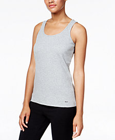 Nautica Fleece Pajama Tank Top