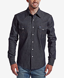 Wrangler Men's Authentic Western Long Sleeve Shirt