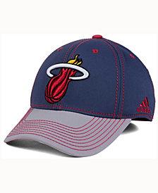 adidas Miami Heat Volcano Ash Flex Cap