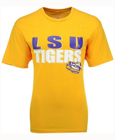 Colosseum Men's LSU Tigers Wordmark Stack T-Shirt
