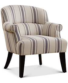 Mulvane Upholstered Armchair, Quick Ship