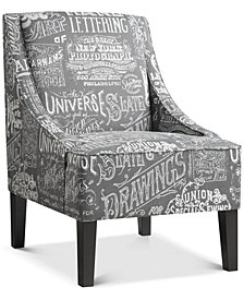 Powal Upholstered Armchair, Quick Ship