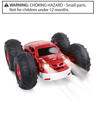 Black Series Radio Controlled Flip Stunt Rally Toy